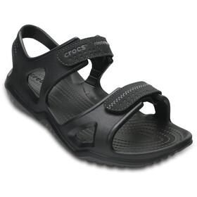Crocs Swiftwater River Sandals Men Black/Black
